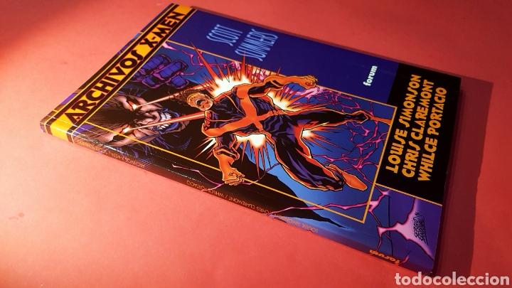 EXCELENTE ESTADO ARCHIVOS X MEN 4 FACTOR X SCOTT SUMMERS FORUM (Tebeos y Comics - Forum - X-Men)