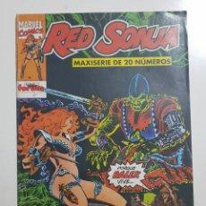 Cómics: FANTASÍA HEROICA - RED SONJA Nº 3 ROBERT E. HOWARD FORUM MARVEL COMICS. Lote 160532966
