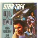 Cómics: STAR TREK DEUDA DE HONOR (CLAREMONT & HUGUES) NOVELA GRÁFICA 1995. Lote 160538038