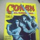 Cómics: CONAN, EL BÁRBARO Nº 21 - RETAPADO Nº 198 AL 205 - ED. FORUM. Lote 160562578