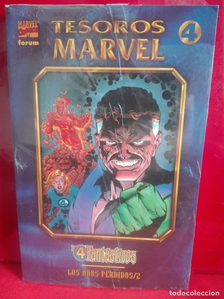 TESOROS MARVEL LOS 4 F LOS AÑOS PERDIDOS COMPLETA # O (Tebeos y Comics - Forum - Prestiges y Tomos)