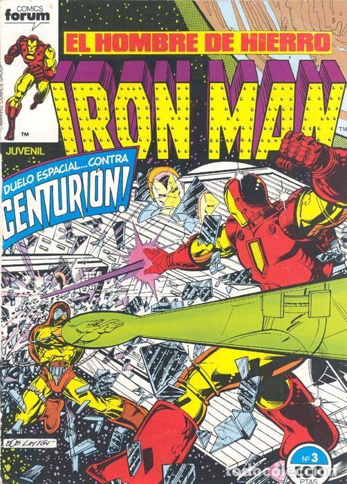 IRON MAN VOL.1 Nº 3 - FORUM. EL HOMBRE DE HIERRO. (Tebeos y Comics - Forum - Iron Man)