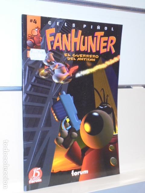 FANHUNTER EL GUERRERO DEL ANTIFAN Nº 4 CELS PIÑOL - FORUM - OFERTA (Tebeos y Comics - Forum - Otros Forum)
