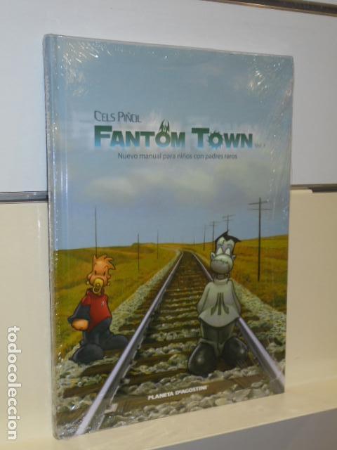 CELS PIÑOL FANTOM TOWN NUEVO MANUAL PARA NIÑOS CON PADRES RAROS - PLANETA - (Tebeos y Comics - Forum - Otros Forum)