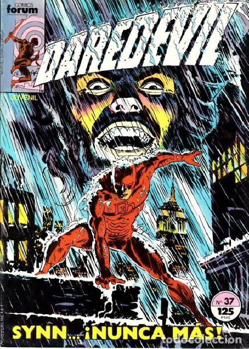 DAREDEVIL VOL.1 Nº 37 - FORUM. DAN DEFENSOR. (Tebeos y Comics - Forum - Daredevil)