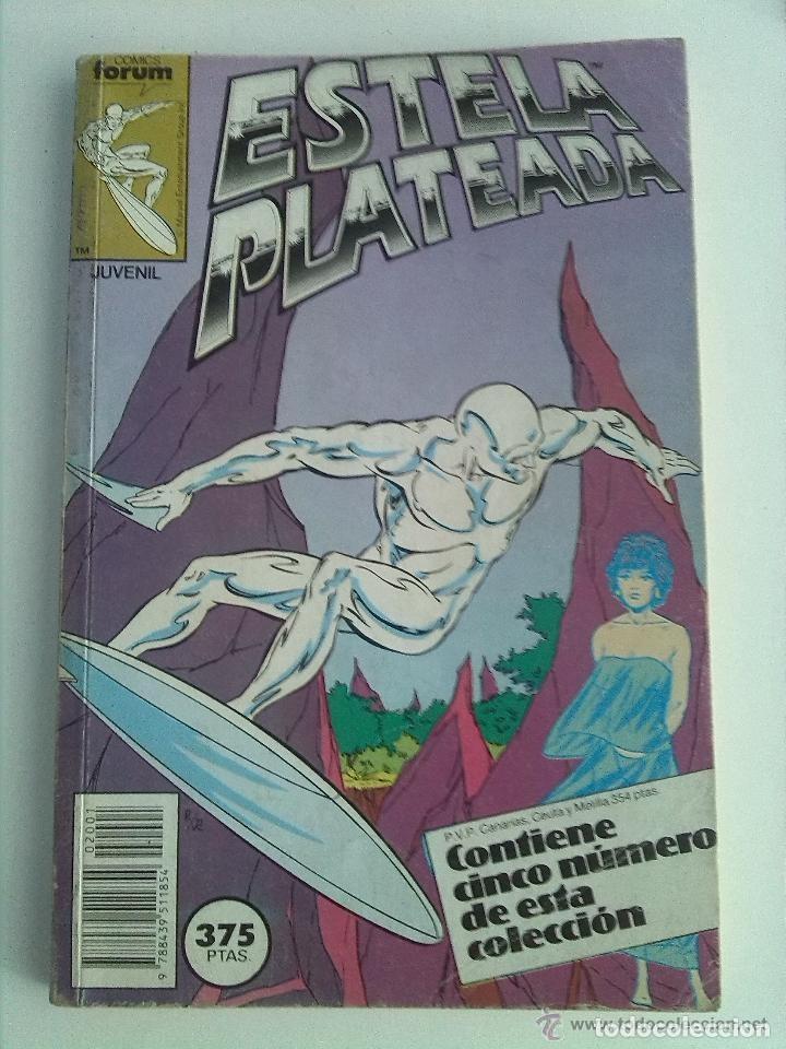 ESTELA PLATEADA. RETAPADO NUMEROS 1 AL 5 VOLUMEN 1 FORUM. SILVER SURFER. (Tebeos y Comics - Forum - Silver Surfer)