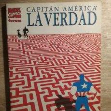 Cómics: CAPITAN AMERICA: LA VERDAD # N. Lote 160630010