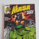 Cómics: MARVEL COMICS - LA MASA VOL. 1 Nº 6 FORUM 1983 THE HULK AVENGERS VENGADORES. Lote 160681798