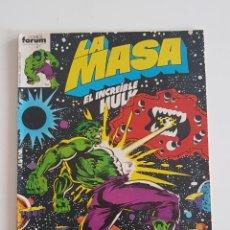 Cómics: MARVEL COMICS - LA MASA VOL. 1 Nº 11 FORUM 1983 THE HULK AVENGERS VENGADORES. Lote 160682098