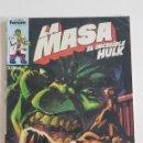 Cómics: MARVEL COMICS - LA MASA VOL. 1 Nº 31 FORUM 1984 THE HULK AVENGERS VENGADORES. Lote 160682522