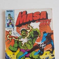 Cómics: MARVEL COMICS - LA MASA VOL. 1 Nº 32 FORUM 1985 THE HULK AVENGERS VENGADORES. Lote 160682598