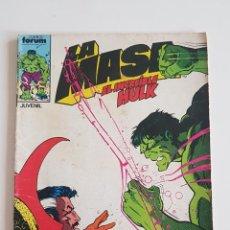 Cómics: MARVEL COMICS - LA MASA VOL. 1 Nº 36 FORUM 1985 THE HULK AVENGERS VENGADORES. Lote 160682818