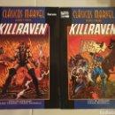 Cómics: KILLRAVEN: CLASICOS MARVEL BLANCO Y NEGRO. Lote 160737782