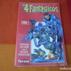 Cómics: LOS 4 FANTASTICOS VOL. 4 NºS 1, 2, 3, 4 Y 5 RETAPADO ( PACHECO MERINO ) ¡MUY BUEN ESTADO! FORUM. Lote 160809782