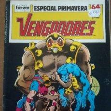 Fumetti: LOS VENGADORES VOL. 1 1ª EDICION ESPECIAL PRIMAVERA 1989 - FORUM. Lote 160338233