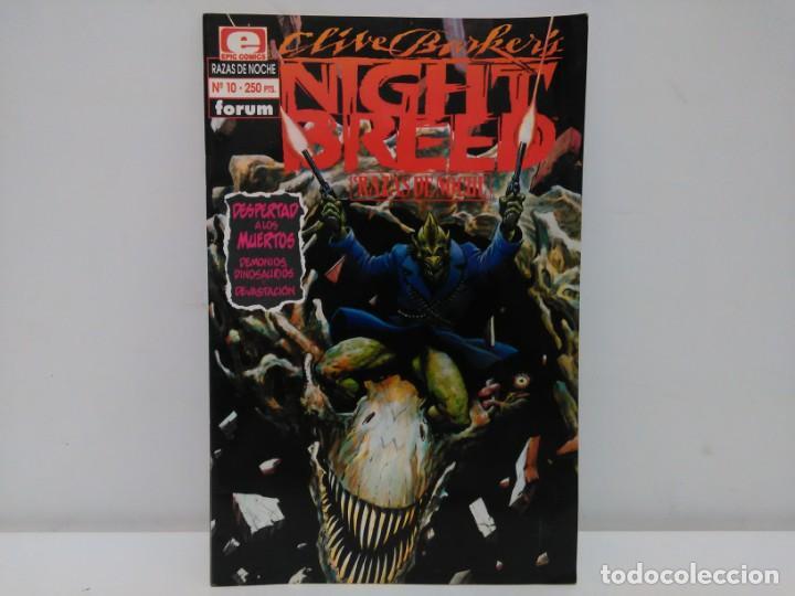 NIGHT BREED, RAZAS DE NOCHE, Nº10, FORUM (Tebeos y Comics - Forum - Otros Forum)