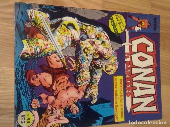 COMIC FORUM PLANETA MARVEL CONAN EL BARBARO Nº 94 (Tebeos y Comics - Forum - Conan)