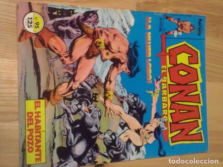 COMIC FORUM PLANETA MARVEL CONAN EL BARBARO Nº 95 (Tebeos y Comics - Forum - Conan)