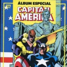 Cómics: ALBUM ESPECIAL CAPITAN AMERICA CON DOS NUMEROS EXTRA. Lote 161011234