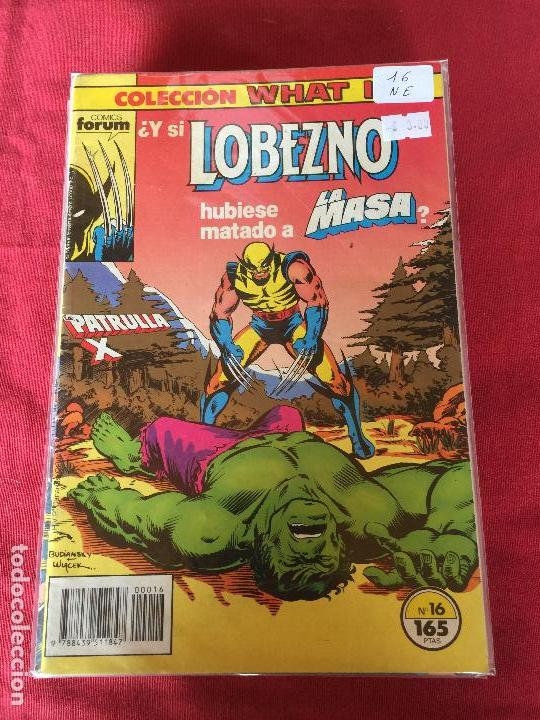 FORUM WHAT IF NUMERO 16 NORMAL ESTADO (Tebeos y Comics - Forum - Otros Forum)