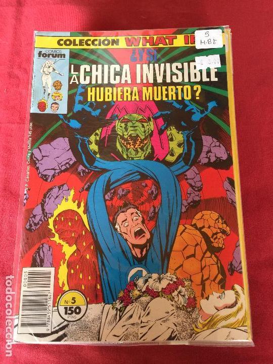 FORUM WHAT IF NUMERO 5 BUEN ESTADO (Tebeos y Comics - Forum - Otros Forum)