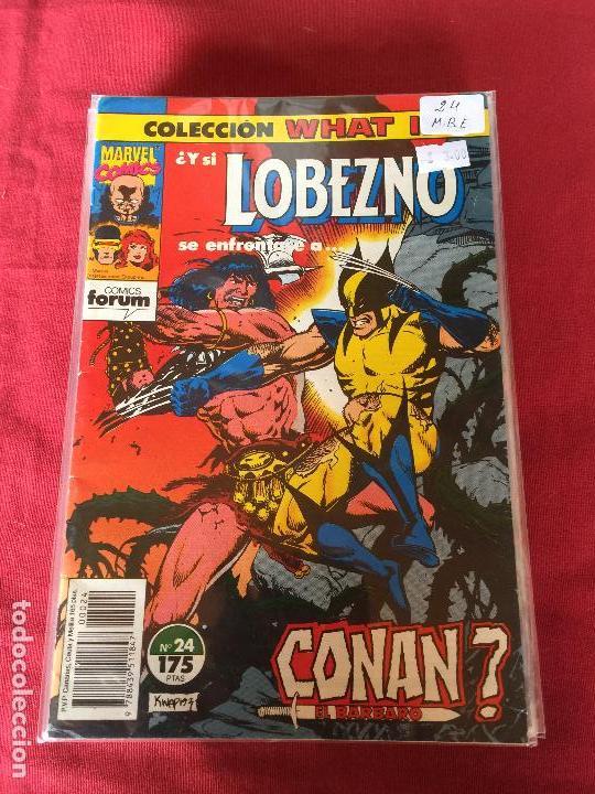 FORUM WHAT IF NUMERO 24 BUEN ESTADO (Tebeos y Comics - Forum - Otros Forum)