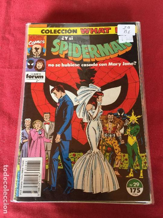 FORUM WHAT IF NUMERO 29 BUEN ESTADO (Tebeos y Comics - Forum - Otros Forum)