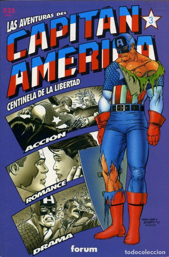Cómics: LAS AVENTURAS DEL CAPITÁN AMÉRICA - PLANETA-DEAGOSTINI (FORUM) - COL. PRESTIGIO 40, 42, 44 y 46 - Foto 4 - 161087758