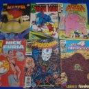 Cómics: LOTE DE COMICS NICK FURIA IRON MAN SPIDER-MAN LOS VENGADORES LOS 4 FANTASTICOS INDIANA JONES BUTCHER. Lote 161182862