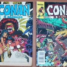 Cómics: LOTE DE 2 CÓMICS DE CONAN EL BÁRBARO. Lote 161488758