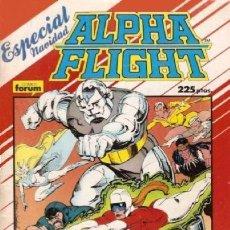 Cómics: ALPHA FLIGHT VOL. 1 ESPECIAL NAVIDAD 1987. Lote 161517858