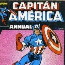 Cómics: CAPITÁN AMÉRICA VOL. 1 ESPECIALES (1985-1992). #1 ESPECIAL PRIMAVERA. Lote 175144847