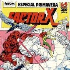 Cómics: FACTOR-X VOL. 1 ESPECIALES (1988-1995) #2. ESPECIAL PRIMAVERA (1989). Lote 161518014