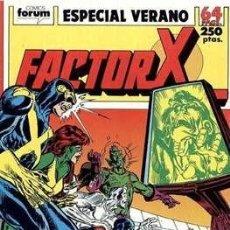 Cómics: FACTOR-X VOL. 1 ESPECIALES (1988-1995) #3. ESPECIAL VERANO (1989). Lote 161518018