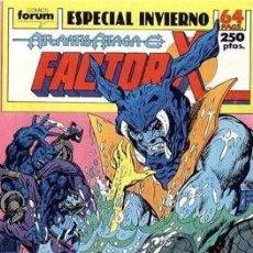 Cómics: FACTOR-X VOL. 1 ESPECIALES (1988-1995) #4. ESPECIAL INVIERNO (1989). Lote 161518034