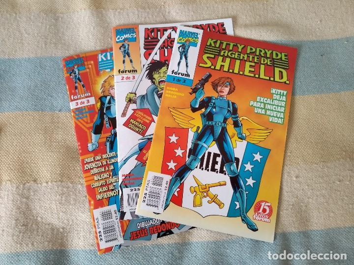 KITTY PRYDE AGENTE DE S.H.I.E.L.D - MUY BUEN ESTADO (Tebeos y Comics - Forum - Patrulla X)