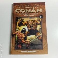 Cómics: LAS CRONICAS DE CONAN NUMERO 14 MUY DIFICIL EXCELENTE ESTADO. Lote 194184608
