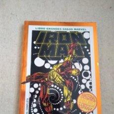 Cómics: IRON MAN: MUERTE EN EL CIBERESPACIO - LIBRO GRANDES SAGAS MARVEL. Lote 161752814
