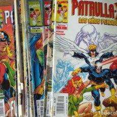 Cómics: PATRULLA-X LOS AÑOS PERDIDOS- COLECCION COMPLETA DEL 1 AL 22 - MARVEL FORUM. Lote 161803938