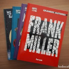 Cómics: GRANDES AUTORES - FRANK MILLER, JOHN BYRNE, WALTER SIMONSON, SAL BUSCEMA - 4 TOMOS - COMPLETA. Lote 161813082
