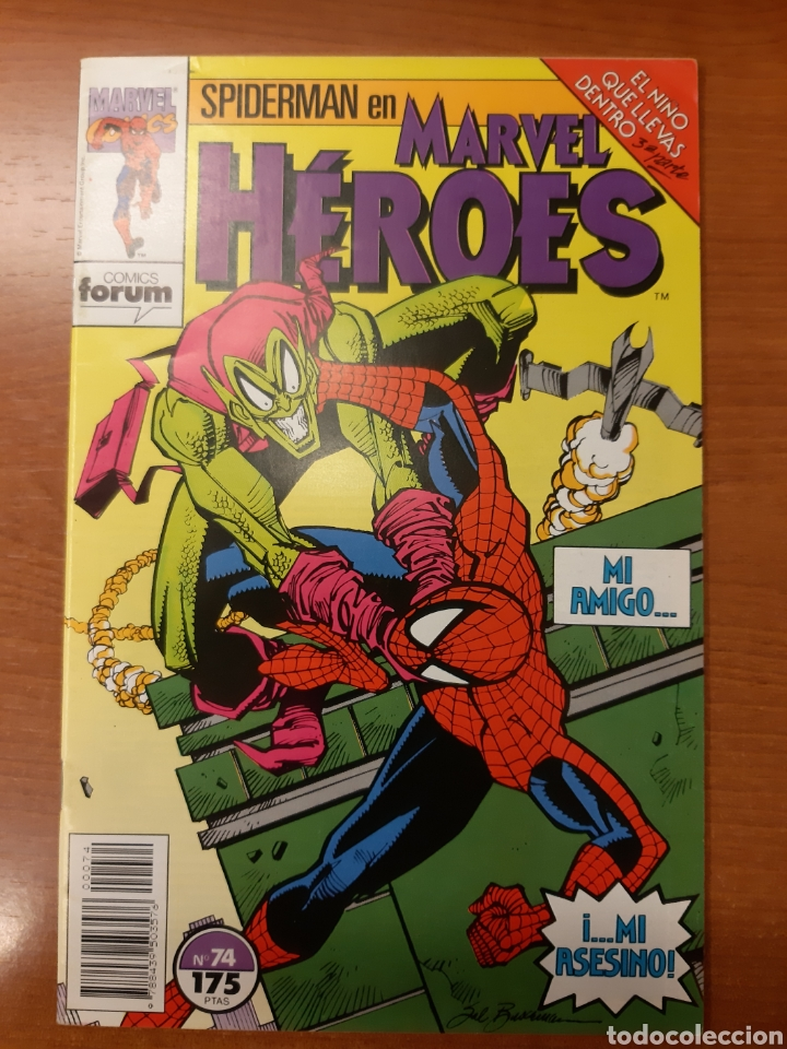 Cómics: Spiderman: el niño que llevas dentro -completa -Marvel Héroes 72 al 77 - Foto 6 - 121266503