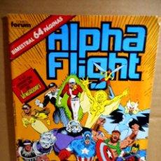 Fumetti: ALPHA FLIGHT Nº 37. Lote 161926850