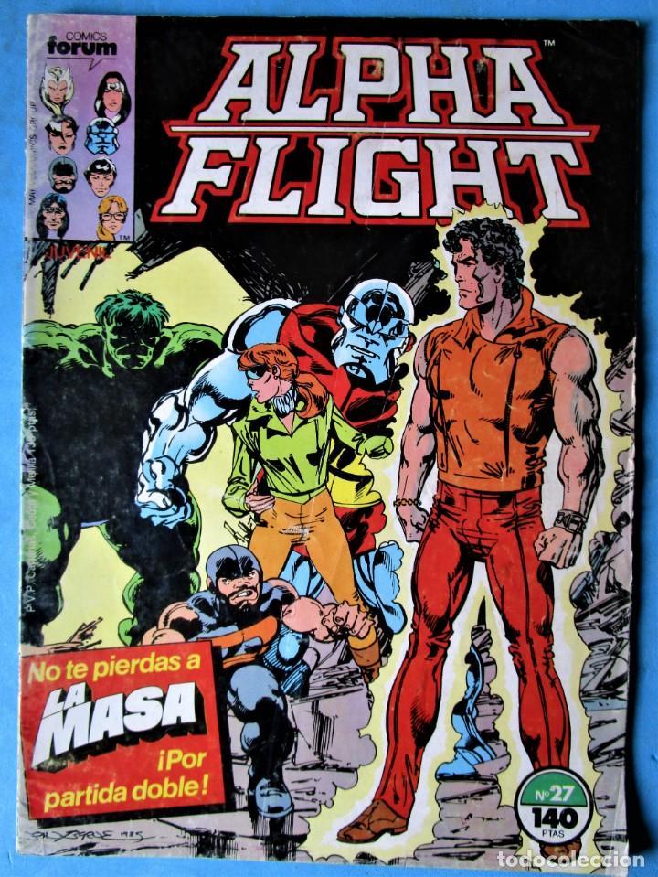 ALPHA FLIGHT Nº 27 - FORUM 1987 (Tebeos y Comics - Forum - Alpha Flight)