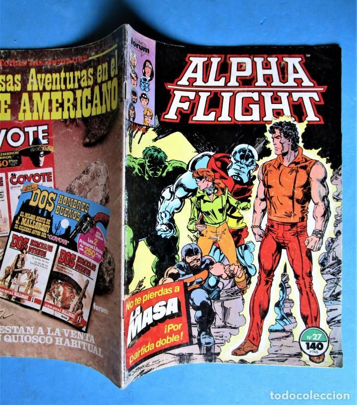 Cómics: ALPHA FLIGHT Nº 27 - FORUM 1987 - Foto 2 - 217777883