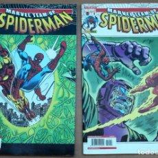 Cómics: LOTE DE 2 CÓMICS MARVEL TEAM UP - SPIDERMAN. Lote 161932042