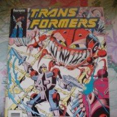 Cómics: RETAPADO TOMO TRANSFORMERS TRANS FORMERS Nº 51 52 53 54 FORUM. Lote 161980318