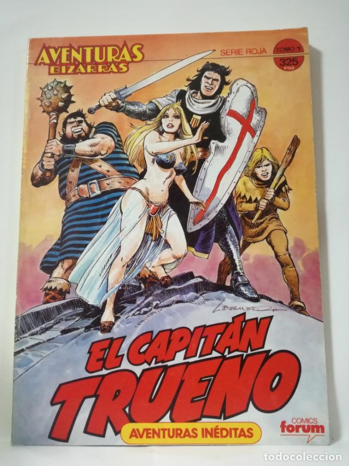 EL CAPITÁN TRUENO - SERIE ROJA - AVENTURAS INÉDITAS- TOMO 1 - CONTIENE Nº 1 AL 5 **FORUM COMICS** (Tebeos y Comics - Forum - Otros Forum)