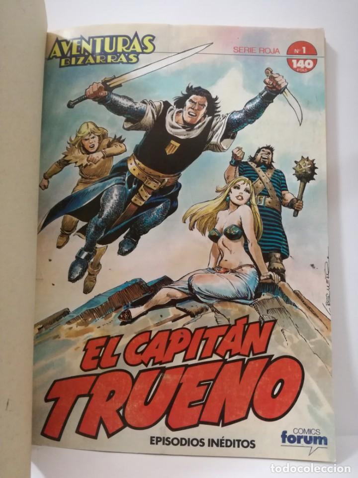 Cómics: EL CAPITÁN TRUENO - SERIE ROJA - AVENTURAS INÉDITAS- TOMO 1 - CONTIENE Nº 1 AL 5 **FORUM COMICS** - Foto 4 - 162079542