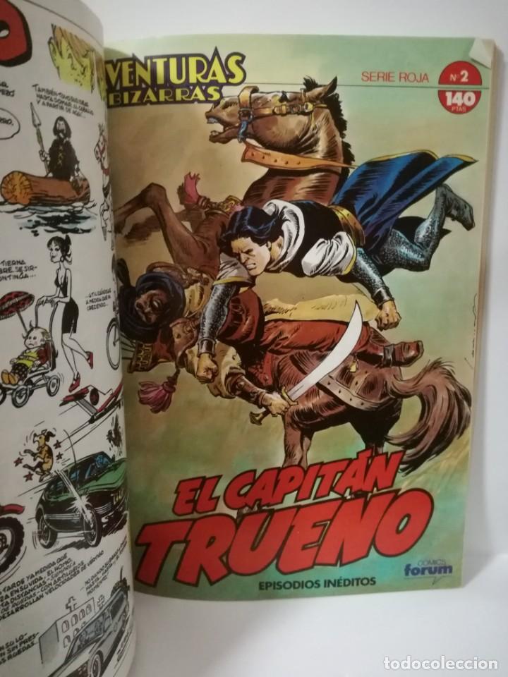 Cómics: EL CAPITÁN TRUENO - SERIE ROJA - AVENTURAS INÉDITAS- TOMO 1 - CONTIENE Nº 1 AL 5 **FORUM COMICS** - Foto 8 - 162079542