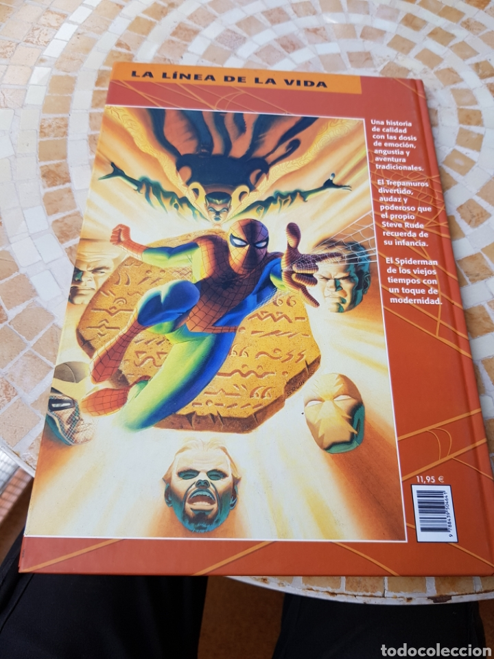Cómics: Comic SPIDERMAN COMICS FORUM TAPA DURA 2002 - Foto 2 - 162365209